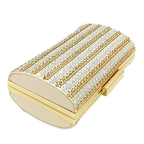 Chaîne Fashion Soirée Hot Sac De D'embrayage Crystal Strass De Sac Dinner Sac Pour gold Diamond De Sac De Banquet Sac Dames Main à Mariée 8URxYqY5