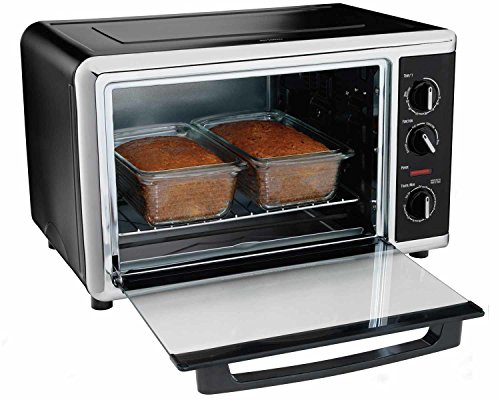 Hamilton Beach 31105hb Countertop Oven With Silver Black