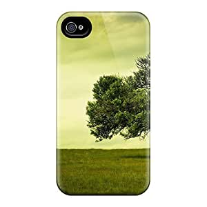 Durable Protector Case Cover With A Broken Tree Hot Design For Iphone 4/4s