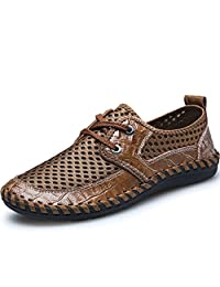 REETENE Men's Summer Breathable Shoes Ultralight Casual Shoes for men