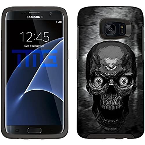 Skin Decal for Otterbox Symmetry Samsung Galaxy S7 Edge Case - Skull Colored Eyes Sales