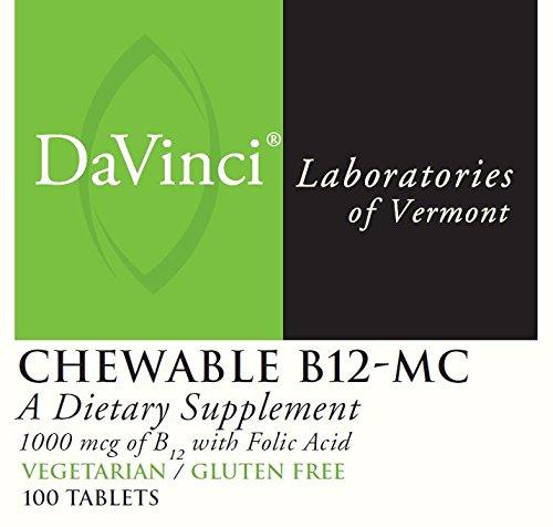 DaVinci Laboratories Chewable B12-mc, 100 Count