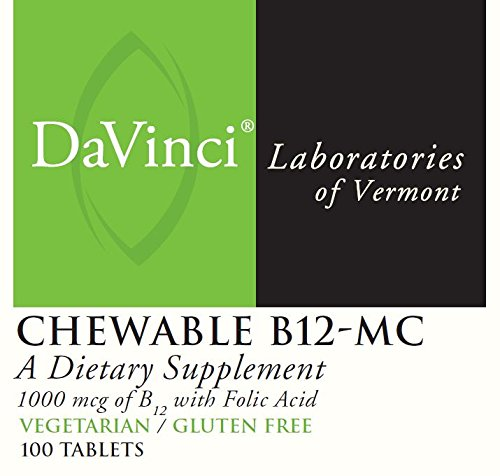 DaVinci Laboratories Chewable B12-mc, 100 Count by DaVinci Laboratories of Vermont (Image #1)