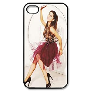 James-Bagg Phone case Singer Ariana Grande Protective Case For Iphone 4 4S case cover Style-11
