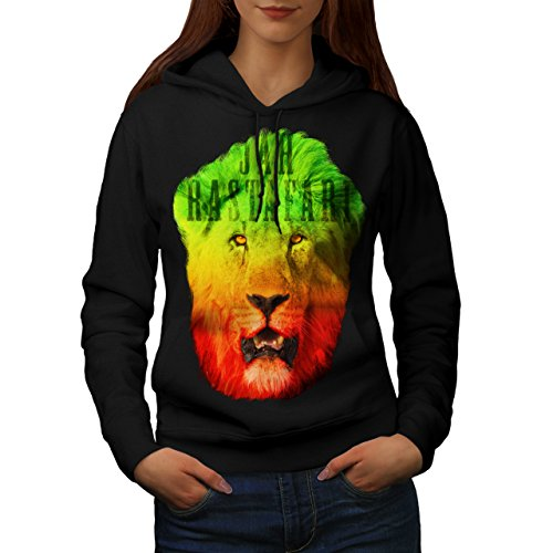 Rastafari Weed Pot Rasta Women S-2XL Hoodie | Wellcoda