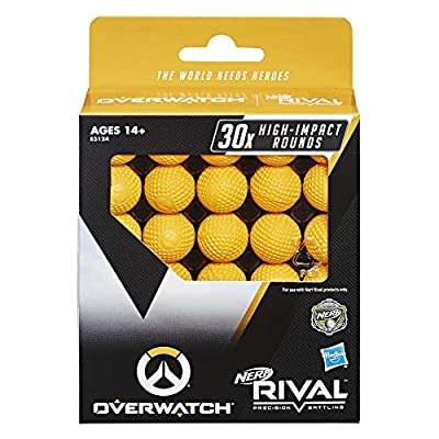 NERF Overwatch Rival 30 Round Refill Pack for Overwatch Rival Blasters: Toys & Games