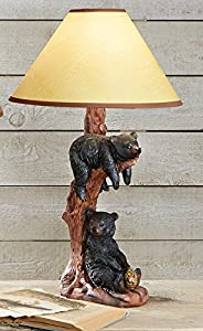 Black Bear Hanging Table Lamp