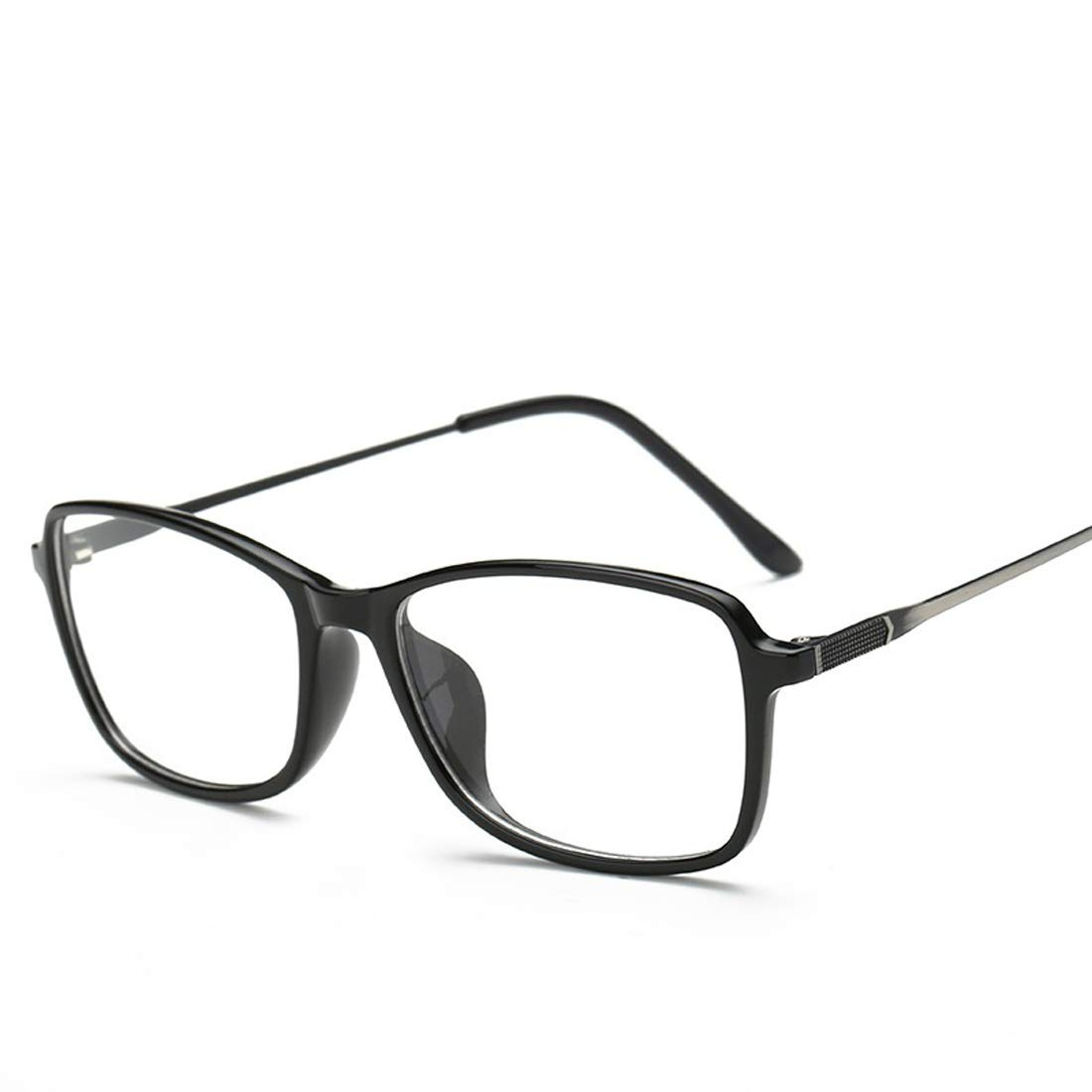Wsunglass Retro men and women TR90 general myopia glasses trend same glasses frame tail cargo processing plain mirror