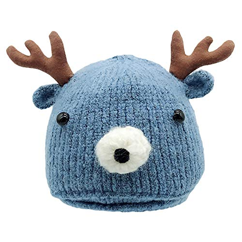 Fineser Christmas Baby Hat, Clearance Sale Boy&Girl Cute Winter Christmas Toddler Deer Horn Knitted Hat Keep Warm Cap