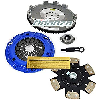 EFT STAGE 3 CLUTCH KIT+FIDANZA FLYWHEEL 91-99 3000GT VR4 STEALTH R/T TWIN TURBO
