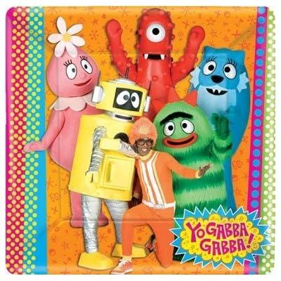 amscan Yo Gabba Gabba! Large Paper Plates (8ct): Toys & Games