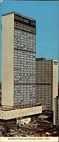 Southland Center & Sheraton Dallas Hotel Dallas, Texas Original Vintage - Center Southlands