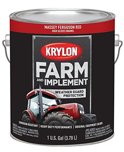 - Krylon 1968 Krylon Farm & Implement Paints Massey Ferguson Red 128 oz. Gallon w/Solvent Base Krylon Farm & Implement Paints
