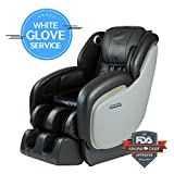 Best Performance L-Track Shiatsu Kahuna Massage Chair LM-7800 (BLACK WG)