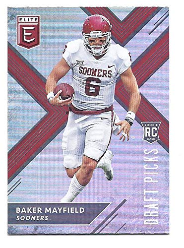 Baker Mayfield 2018 Panini Elite Draft Picks 139 Running Rookie