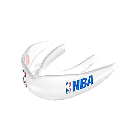 Amazon Com Shock Doctor 8300 Nba Logo Basketball Mouth Guard