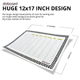 """DoBoard LARGE 12""""x17"""" Magnetic Flexible Dry"""