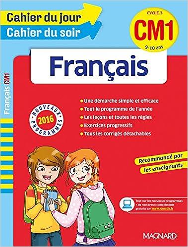En ligne téléchargement Cahier du jour/Cahier du soir Français CM1 - Nouveau programme 2016 pdf, epub ebook