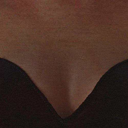 Bauchfreies Oberteil - SODIAL(R) Heiss Sexy Frauen Bauchfreies Oberteil Netz Ausschnitt herzfoermiger Ausschnitt Oberteile Schwarz M