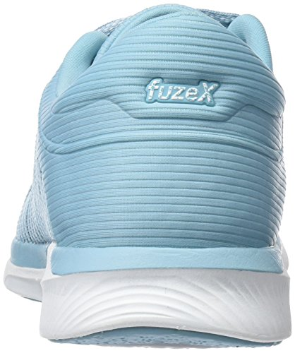 Blue 1401 Damen fuzeX Adapt Rush Türkis Laufschuhe Asics Porcelain Bluewhitesmoke 8q6BwUB