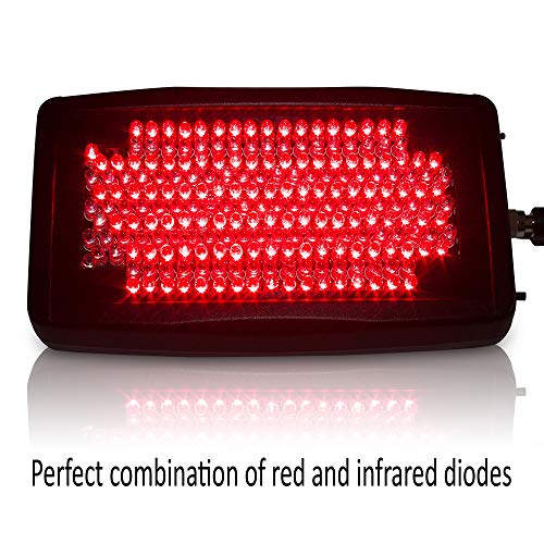 The LightDoctor 10, Near Infrared Red and LED Light Therapy Relief for Neck Pain, Back Pain and Arthritis with Safety Timer & Custom Carrying Case, FDA Cleared