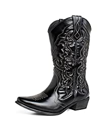 SheSole Women's Western Cowboy Cowgirl Boots
