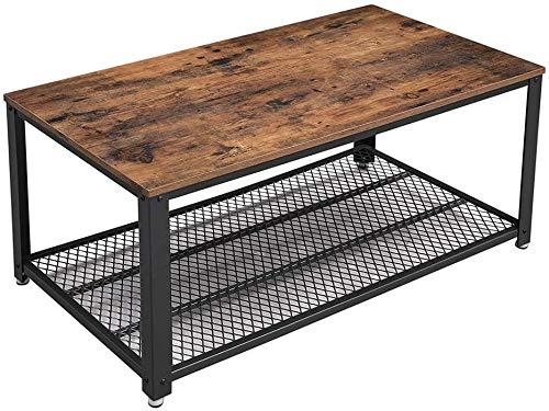 VASAGLE Industrial Coffee Table