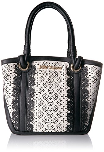 Betsey Johnson Chic Frills Tote, Black