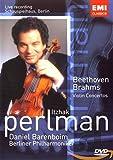 DVD - Itzhak Perlman: Beethoven/Brahms Violin Concertos