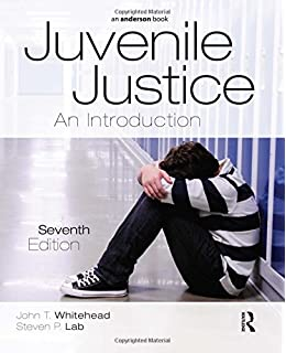 Juvenile justice an introduction john t whitehead steven p juvenile justice an introduction fandeluxe Image collections