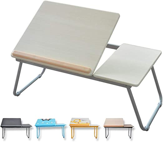 YangD Mesa Plegable Sofa, Plegable Soporte para Portátil Mesa Cama ...
