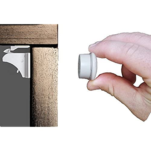 Magnetic Safety Locks For Cabinets, Drawers, And Cupboards. Child And Baby  Proof Your Kitchen And Bathroom In 5 Minutes. Simple Installation With No  Tools ...
