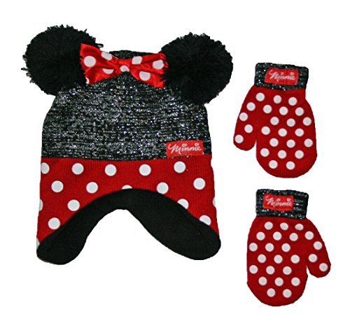 Disney Toddler Minnie Mouse Little Girls Toddler Winter H...