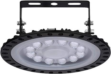 50-500W UFO LED High Bay Light Factory Warehouse Gym Shop Flood Lamps Fixture US