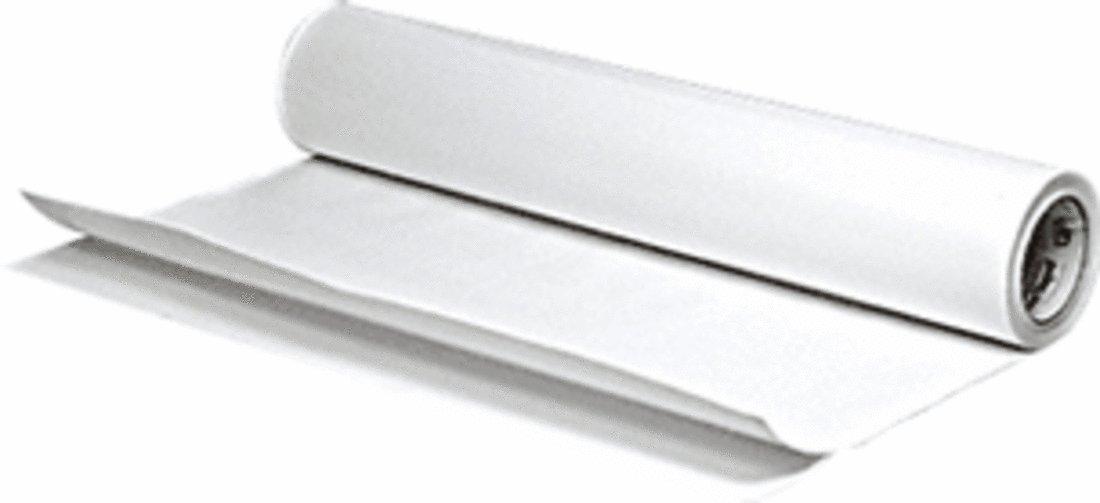CRL 4 Mil 6' (152 mm) Wide White Sandblast Tape - 60' (18.3 m) Roll