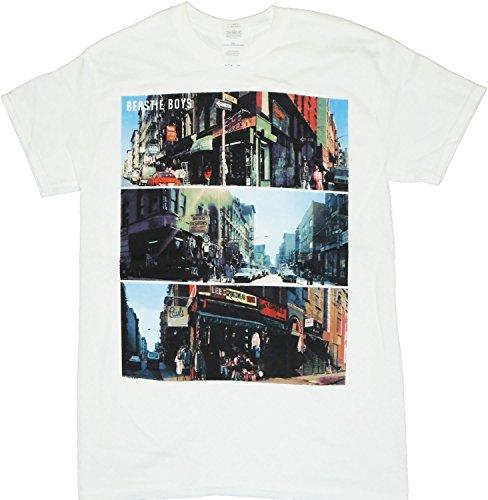 Beastie Boys City Scenes Men's T-Shirt 2XL White