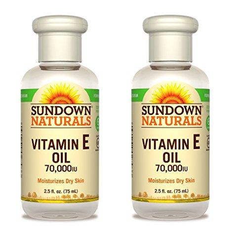 Sundown Pure Vitamin E Oil 70,000 IU, 2 pk by Sundown Naturals