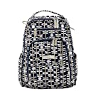Ju-Ju-Be Classic Collection Be Right Back Backpack Diaper Bag, Dandy Lines