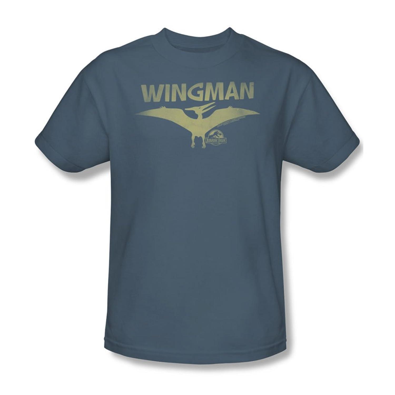 Jurassic Park - Mens Wingman T-Shirt In Slate