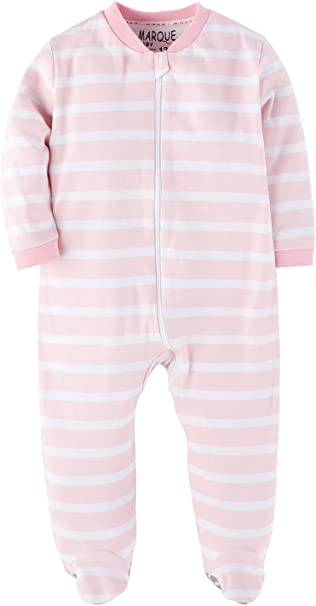 3 ~ 12 24 Months ~ Lot of 3 ~ New 2 18 Baby Girls Pajamas Long Sleeve Size 1