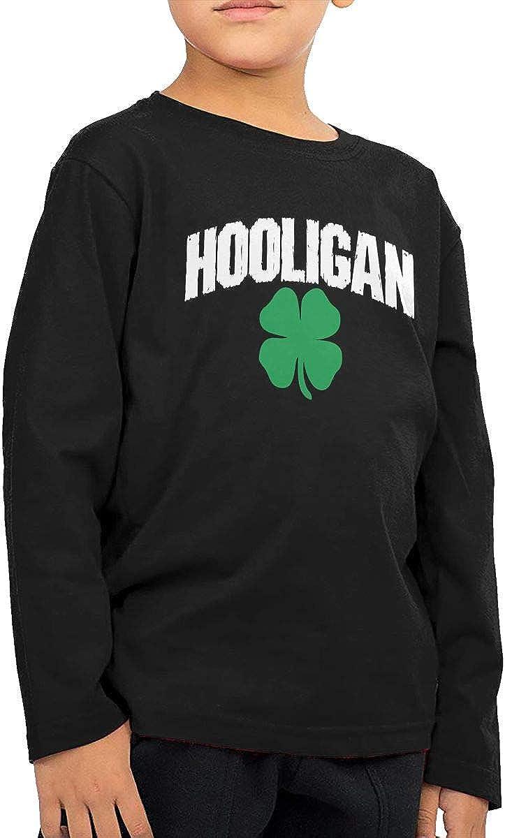CERTONGCXTS Little Boys Irish Hooligan ComfortSoft Long Sleeve Shirt