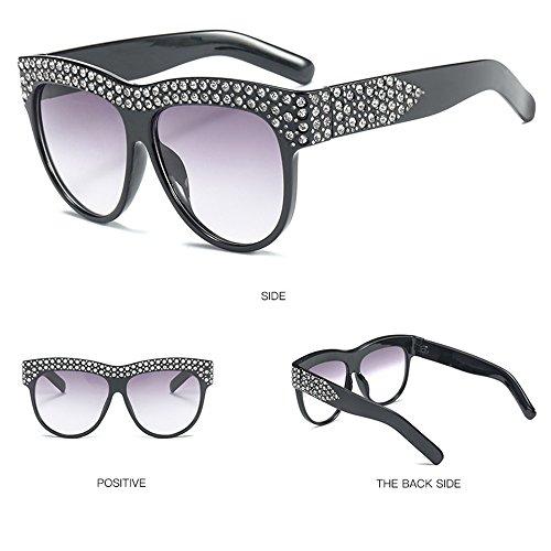 Aire UV Viaje para Chrome Sol Sol De Sol De Gafas Al Playa Gafas Protección De Gafas De Libre De White Mujer De 1xIXqXAOw