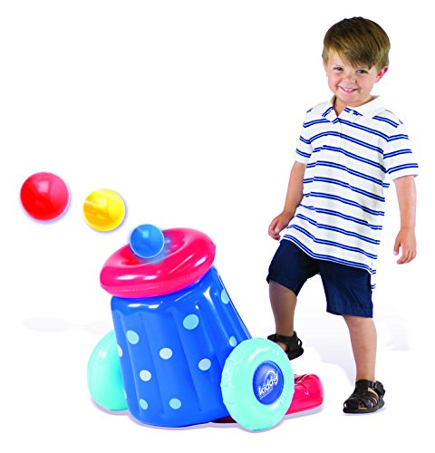 Kiddy Up Pit Ball Cannon Blaster Playset Includes 10 Crush Resistant Pit Balls by Kiddy Up