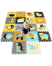 qqpp EVA Puzzle Tapis Mousse Bebe - Idéal pour Les Tapis De Jeux Enfant.