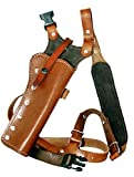 Western Images Leatherworks, Inc Sportsman's Leather Chest Holster for Ruger Super Redhawk and Super Blackhawk (Super Redhawk 7.5 inch Barrel, I'm Right Handed)