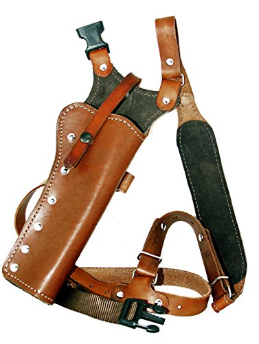 Western Images Leatherworks, Inc Sportsman's Leather Chest Holster for Taurus Revolvers (Raging Bull 454 casull 6.5