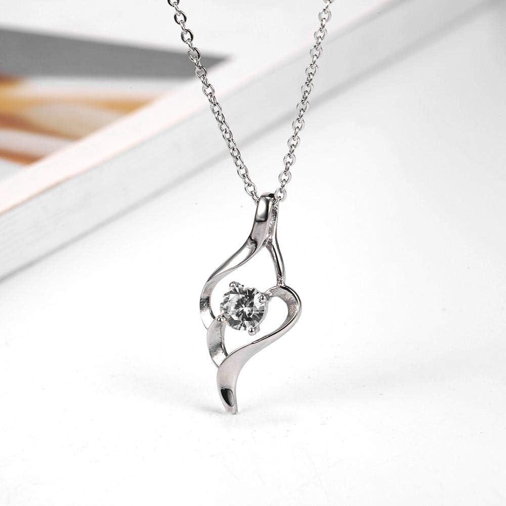 Collar Collar De Acero Inoxidable Clásico Circón Corazón Apple Flor Collar Mujer Collar Colgantes Joyas