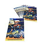 30PCS Blaze and The Monster Machine Gift Bags Party