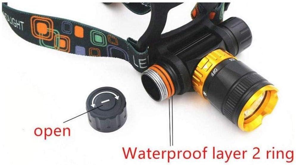 LIMQ Stirnlampe Scheinwerfer T6 Tauchscheinwerfer Magnetschalter wasserdichte Scheinwerfer 18650 Aluminium Tauchscheinwerfer LED Super Bright