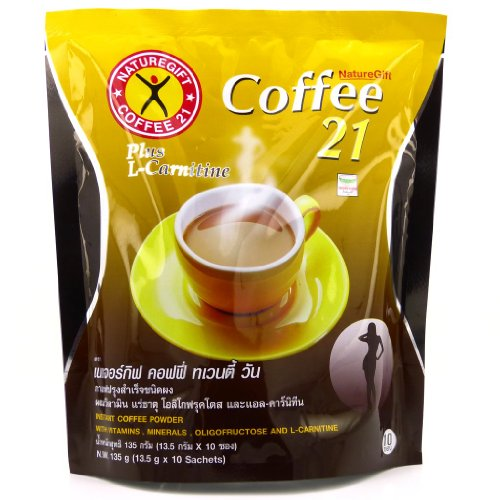 Naturegift Instant Coffee Mix 21 Plus L Carnitine Slimming Weight Loss Diet